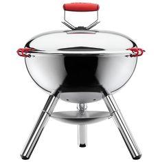 Bodum FYRKAT Picnic Charcoal Grill BBQ Shiny