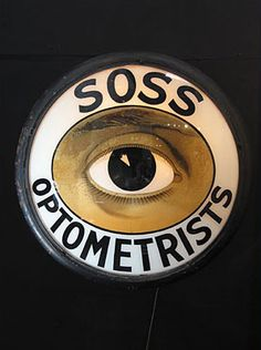 Vintage Optomestrist sign