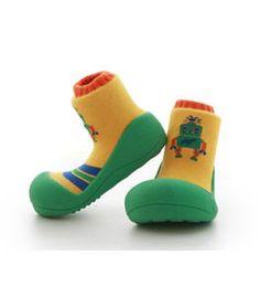 Robot Toddler Shoes [green]-ATTIPAS #kid #kids #kidsfashion #instafashion #kidsclothing #kidswear #kidsstyle #kidslook #girllook #momlook #boylook #cute #beautiful #cutekid #baby #girl #girls #fashion #ATTIPAS #Kfashion #Kfashion4kids  #kkami