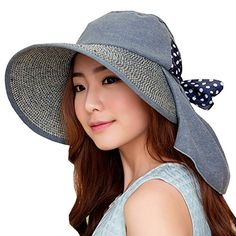 UV Sun hats women summer hats Sun (Blue) 30th floor http://www.amazon.com/dp/B01C41HI6G/ref=cm_sw_r_pi_dp_keF.wb10C5NXK