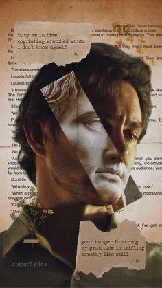 Hannibal Series, Nbc Hannibal, Hannibal Lecter, Night Aesthetic, Aesthetic Art, Hannibal Wallpaper, Will Graham, Hugh Dancy, The Secret History