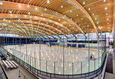 列治文奧林匹克橢圓速滑館|RichmondOlympicOval, 列治文|Richmond, 大溫哥華區域局|MetroVancouver, 卑詩省 (不列顛哥倫比亞省)|BritishColumbia. Indoor Hockey Ice Rink Ice Rink, Ice Hockey, British Columbia, Playground, Olympics, Terrace, Centre, Patio, Deck