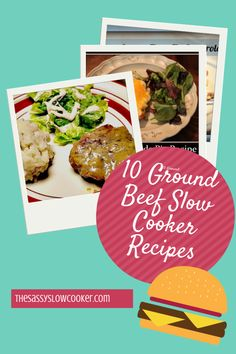 Beef Archives - Page 2 of 7 - The Sassy Slow Cooker Slow Cooker Meal Prep, Crock Pot Slow Cooker, Slow Cooker Recipes, Crockpot Recipes, Slow Cooking, Crock Pot Food, Crockpot Dishes, Hamburger Dishes, Hamburger Recipes