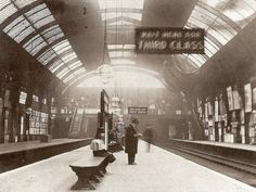 High Street Kensington Station 1892