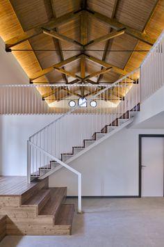 Raíces que se entremezclan con la #innovación Cesal Alcalà de Xivert, #rehabilitación que da vida a un nuevo uso #arquitectura