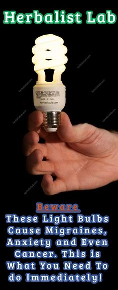 """Bills are """"killing"""" us, and we try to save both energy and money for the well-being of everybody. Old-fashioned light bulbs were replaced with eco-friendly energy saving light bulbs. People thought that these were the best that could ever happen, but experts have some bad news for everyone that got excited over the home-budget-boosting light bulbs. #bulb"""