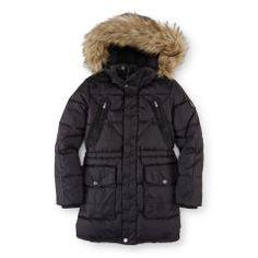 Quilted Down Parka Jacket - Girls 7-16 Outerwear & Jackets - RalphLauren.com
