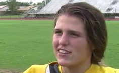 Here She Is: First Female Quarterback In A Florida High School (Video)