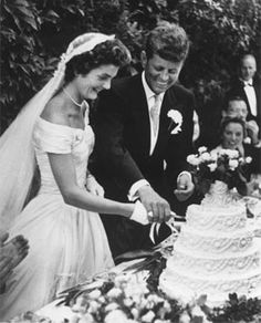 JFK and Jackie Onassis