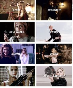 Buffy's Weapons