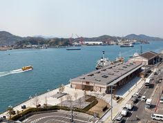 ONOMICHI — the adaptive reuse of an old seaside warehouse into the new interactive space for Onomichi city by Suppose design office Sendai, Giant Bikes, Online Travel Agent, Hiroshima Japan, Car Rental Company, New Bicycle, Travel Advise, Property Design, Adaptive Reuse