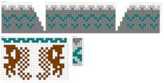 Metsän siimeksessä -sukat Knitted Mittens Pattern, Knit Mittens, Marimekko, Knitting, Charts, Patterns, Block Prints, Graphics, Tricot