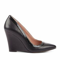 Sole Society Shoes - Pointed toe wedges - Elly - Black