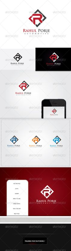 R Letter Automotive Logo Template — Vector EPS #inside #letter • Available here → https://graphicriver.net/item/r-letter-automotive-logo-template/5251781?ref=pxcr