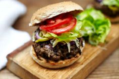 Tonight I am making burgers from scratch. They will hopefully look like this.