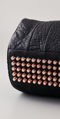 Alexander Wang Rocco bag with rose gold studs. I'm still lusting after this handbag.