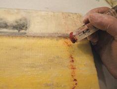 Photo encaustic technique - part 2, by Jill Skupin Burkholder. Photo Technique