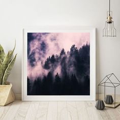 'Foggy Night' Art Print Available @drawdeck #drawdeck #lifestyle 3buyart