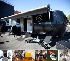 This is an amazing looking airstream type motorhome.
