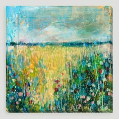 One of my favorite discoveries at WorldMarket.com: 'Field II' by Judy Paul