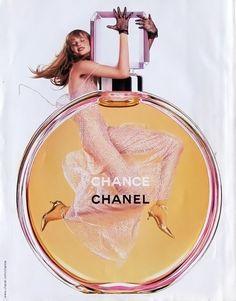 Publicité du parfum Chance de Gabrielle Chanel