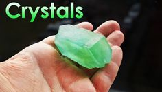 How to Grow Green Single Crystal of Mohr's Salt at Home? DIY homemade!
