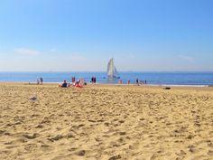 geweldig strand bij Katwijk