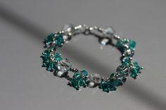 Unique bracelet design based on Swarovski crystals