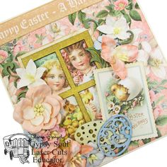 Scraps of Life: Easter Projects (Gypsy Soul Laser Cuts)