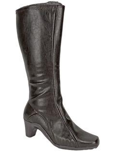 Aerosoles Women's Lasticity Knee High Boots Brown Size 11 Wide #Aerosoles #KneeHighBoots #Casual