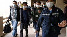 National security law: Hong Kong rounds up 53 pro-democracy activists - BBC News