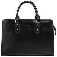 Klare Linien, edles Design und eine Prise Business-Look - so zeigt sich Ihre Leder Damen Handtasche von Cluty. Die quadratische Form und die glatte, hochwertig-glänzende Oberfläche der Tasche geben ihr ein edles und sehr wertiges Gesicht. Der Innenraum ist ähnlich einer Aktentasche gestaltet. Ihre Leder Damen Handtasche der Marke Cluty wird Sie sowohl ins Büro als auch im Alltag schick begleiten. Leder Damen Handtasche im Detail: * Made in Italy * aus hochwertigem, italienischem Rindleder…