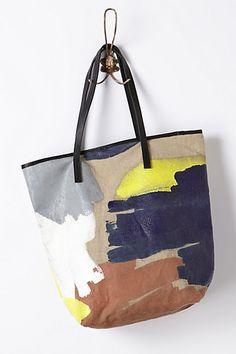 2a6924546d Brushstroke Tote - anthropologie.com Art Bag