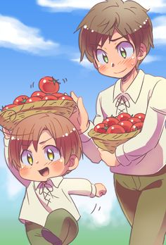 This is so cool(and cute :3)! I love the art style the person drew this in!   Hetalia