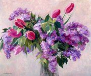 """""""Lilacs and Tulips"""""""