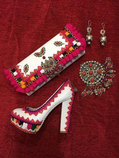 Chaussure à talon et sac a main ~Berbère~
