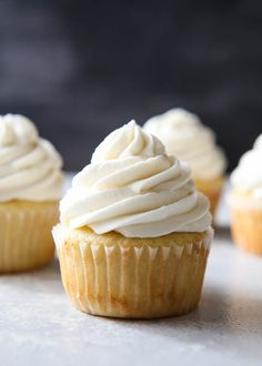 Whipped Vanilla Buttercream Frosting | Completely Delicious
