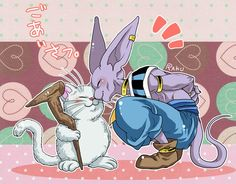 Korin and Lord Beerus