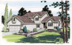 Traditional House Plan 24552 Elevation