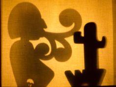 jugando con la leyenda del Viento Zonda #titeres #sombras #shadowpuppet