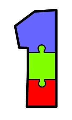 Recortamos y aprendemos los números y colores con estos divertidos puzzles Body Preschool, Numbers Preschool, Preschool Math, Maths, English Activities, Book Activities, Toddler Activities, Teaching The Alphabet, Teaching Math