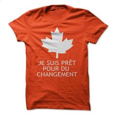 Je suis pret pour du changement - #silk shirt #plain black hoodie. BUY NOW => https://www.sunfrog.com/Political/Je-suis-pret-pour-du-changement.html?id=60505  https://www.birthdays.durban