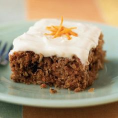 #2 Blissfully Delicious Dessert - Something like my Mumma's Carrot Cake--a family favorite! Perfect balance of sweetness, spice, and carrot of course. She tops hers with a cream cheese frosting and uses carrot baby food so it's super moist! The only carrot cake I will ever eat! #MomsMeals