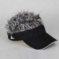 FLAIR HAIR HATS WITH HAIR USA BANDANA BLONDE HAIR QUALITY SURF FUN PARTY WIG