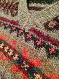 fairisle Fair Isle Knitting Patterns, Fair Isle Pattern, Knit Patterns, Free Knitting, Knitting Sweaters, Purl Stitch, How To Purl Knit, Pattern Books, Knitting Projects