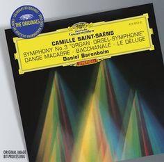 SAINT-SAËNS Organ Symphony - Barenboim - Deutsche Grammophon