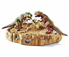 Discovery Battling T-Rex Game