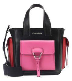 18ad36d240f Miu Miu Leather Shoulder Bag Shoulder Handbags, Shoulder Bags, Leather Shoulder  Bag, Miu