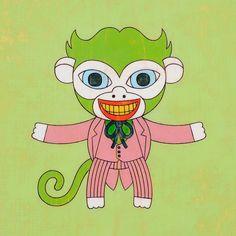Joker Art Print via Etsy