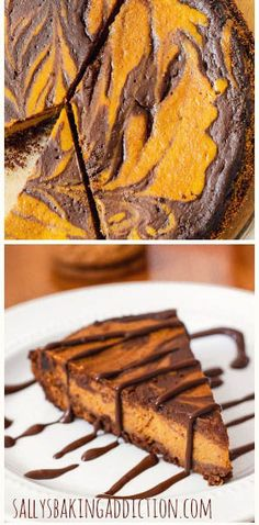 Dazzle guests with this Gingersnap Pumpkin Pie. With a generous swirl of Nutella too!